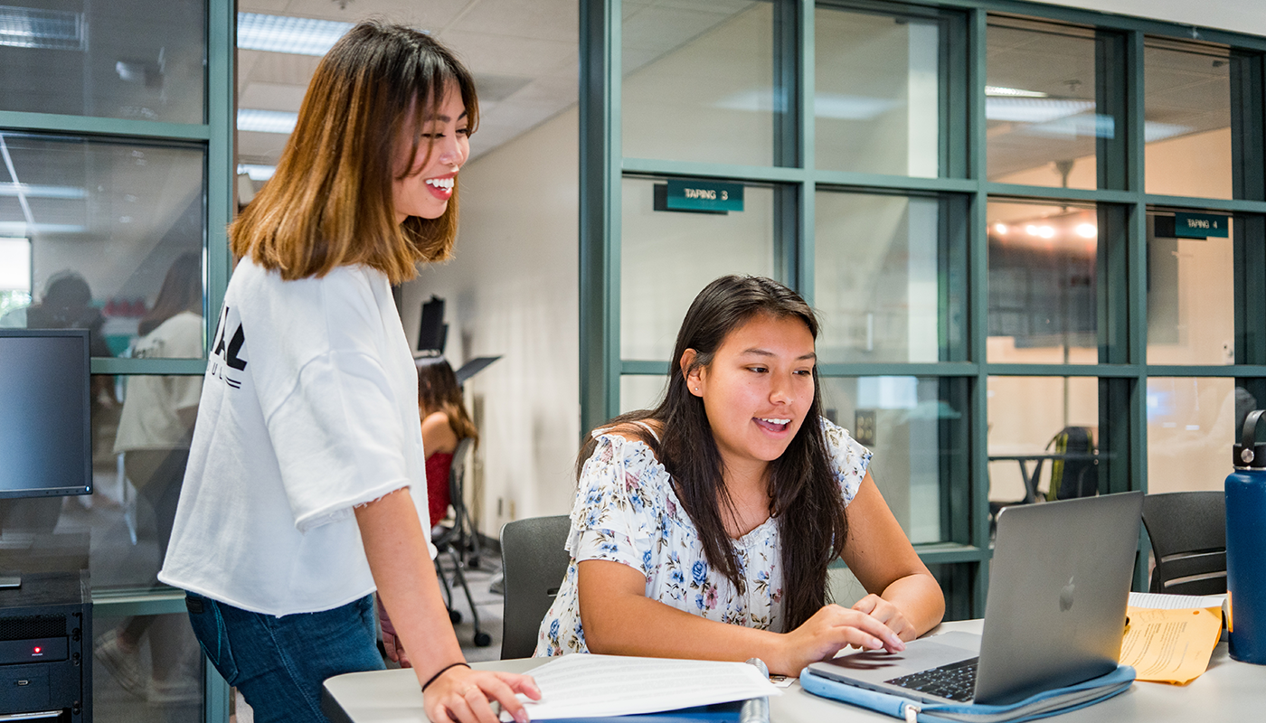 SBCC students can become tutors as student workers.